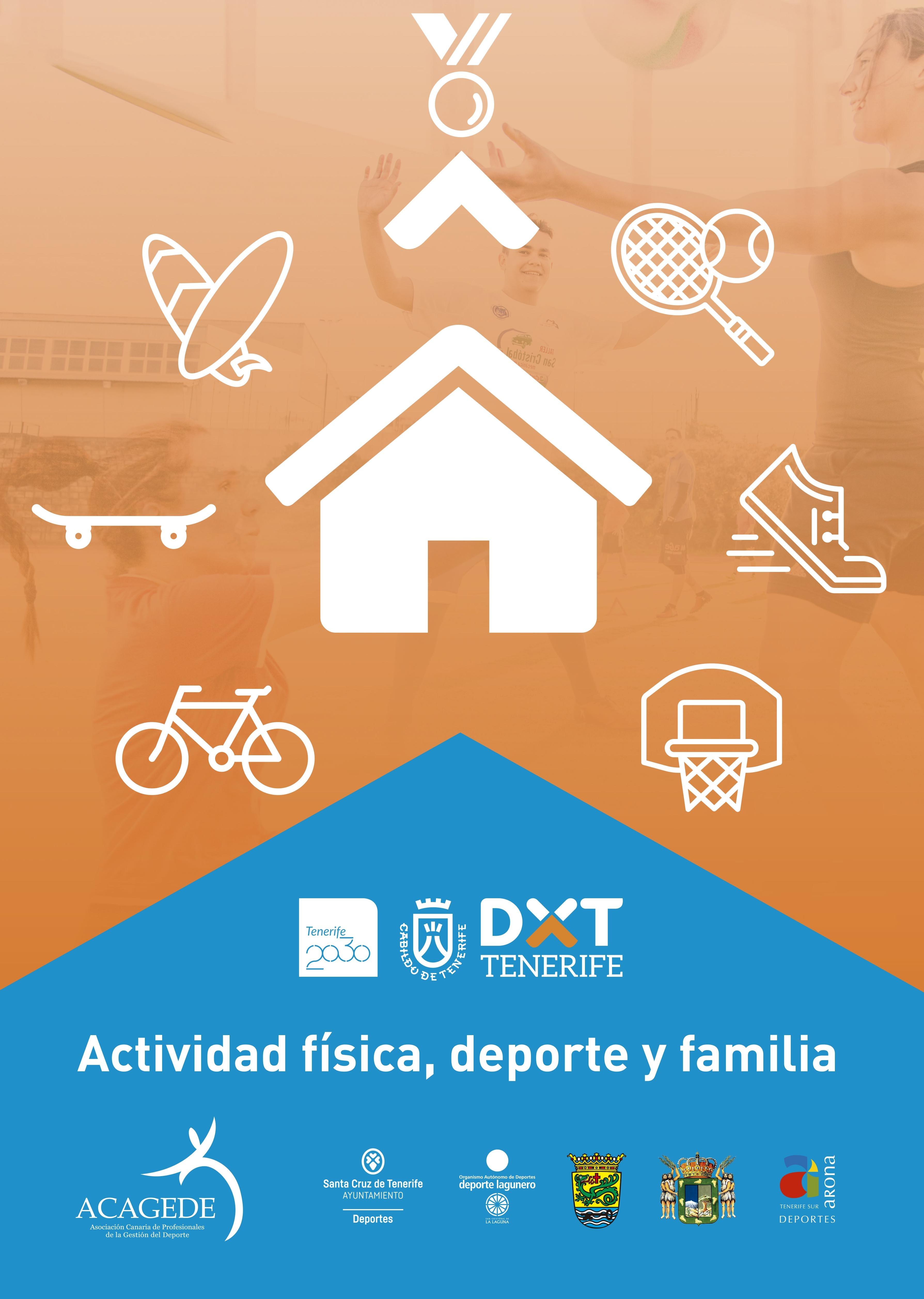 """CHARLA-TALLER """"ACTIVIDAD FÍSICA DEPORTE Y FAMILIA"""" 11 DE MAYO ARONA"""