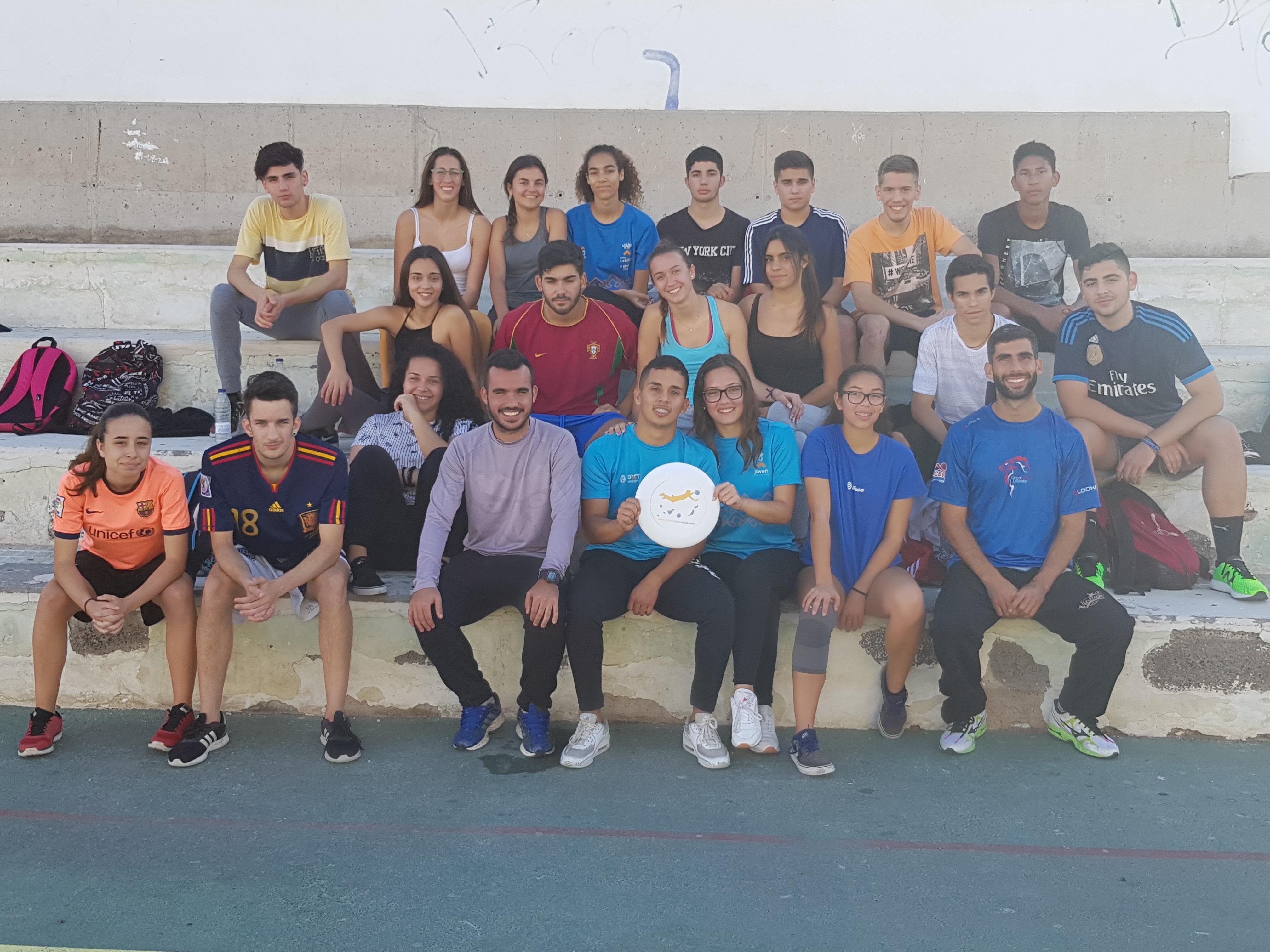 Actividad: Ultimate Frisbee