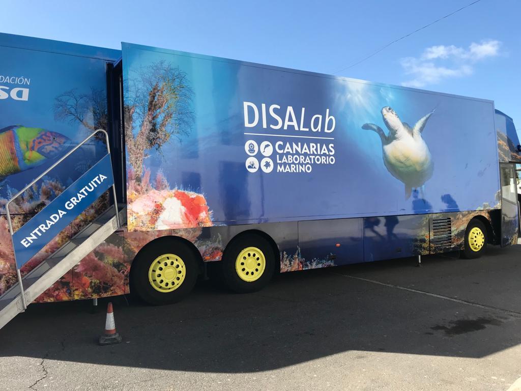 Actividad complementaria 1º ESO: DISALab-Canarias Laboratorio Marino
