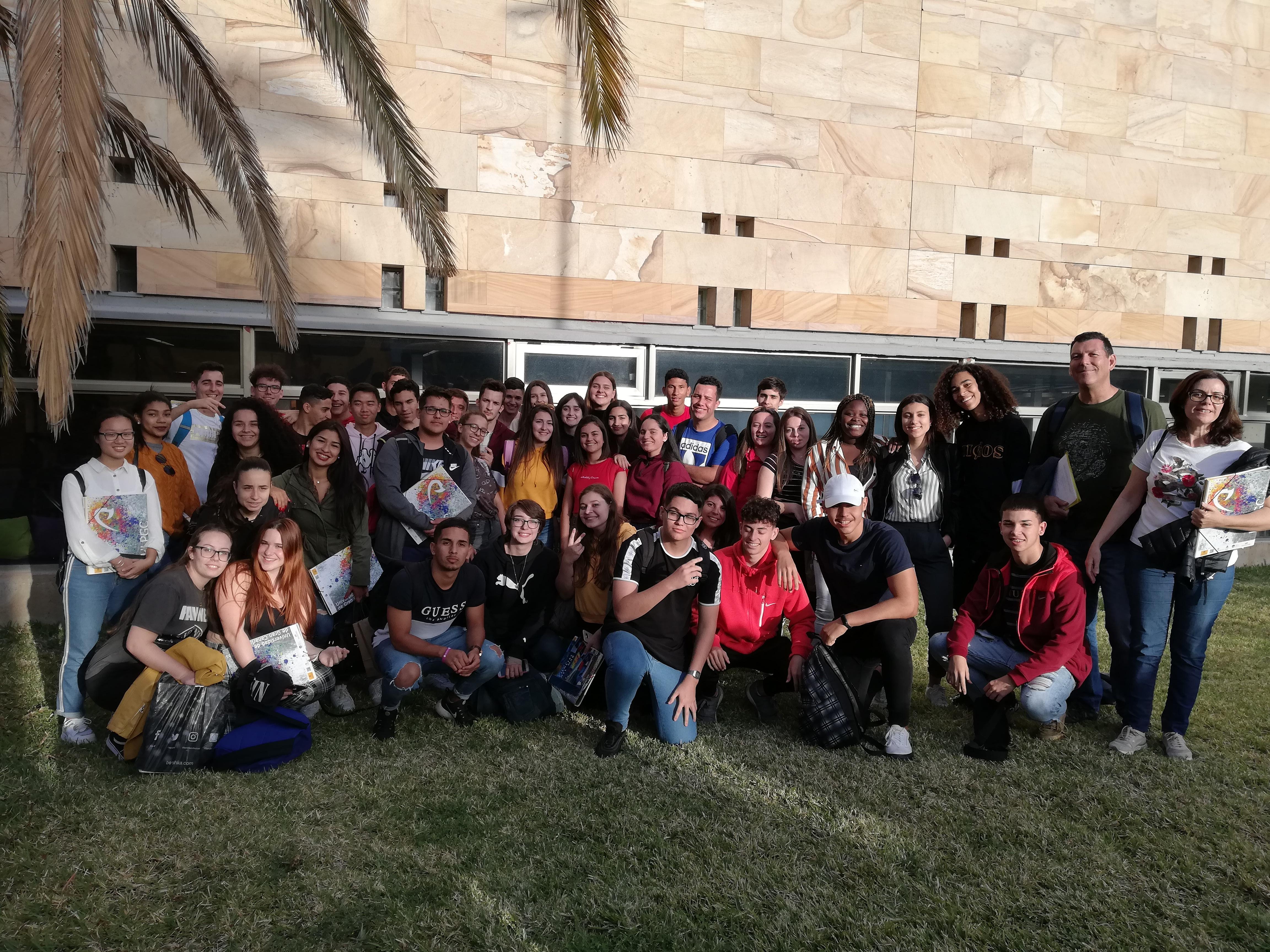 Visita ULPGC: Jornada de Puertas Abiertas
