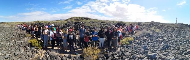 Paseando entre volcanes: visita a la Reserva Natural del Malpaís de Rasca