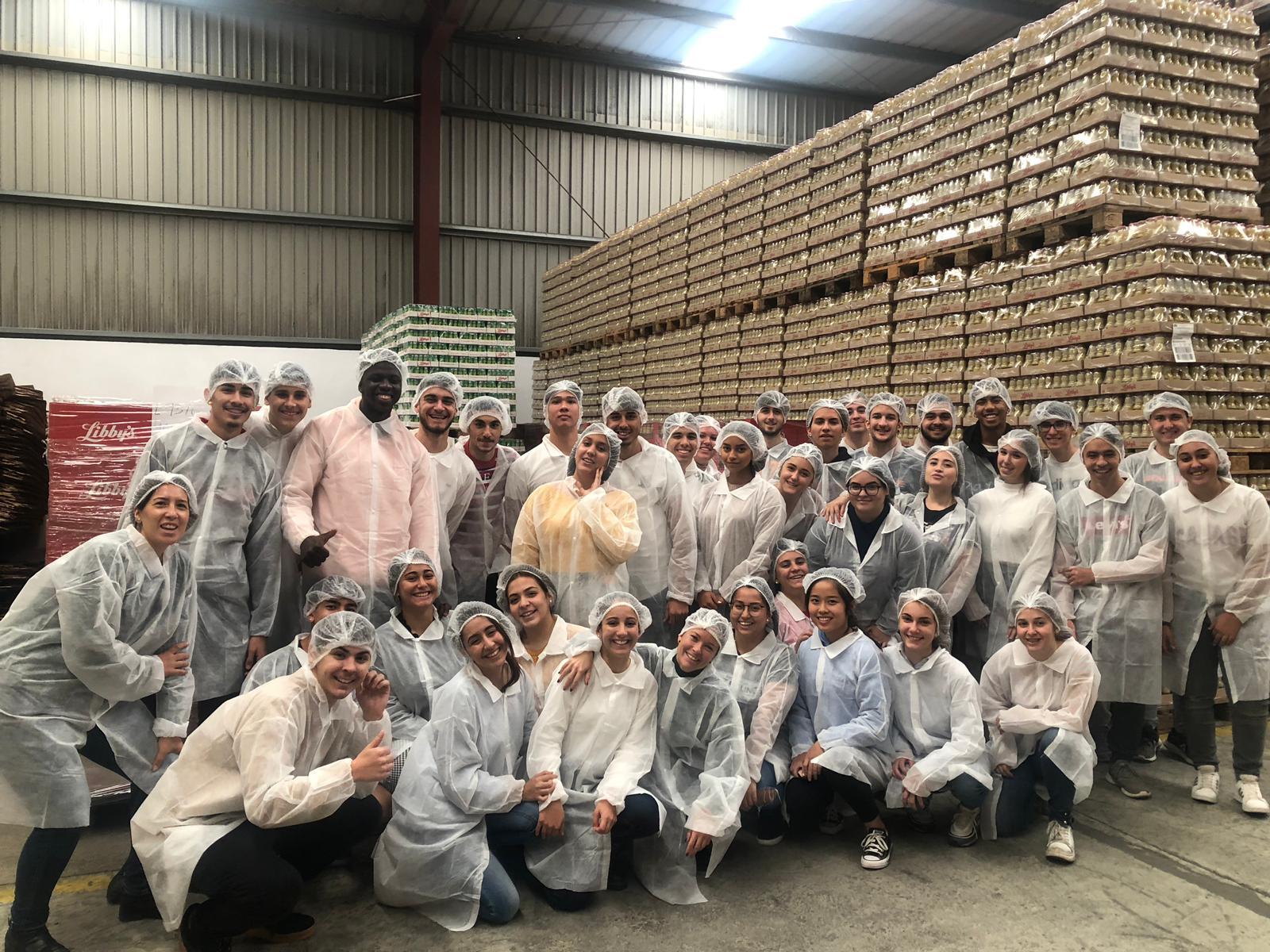 Visita a la empresa Libbys Canarias